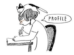 イラストレーター坂本奈緒
