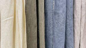 色とりどりのカーテン