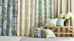 現代風のカーテン