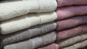 清潔感のあるタオル